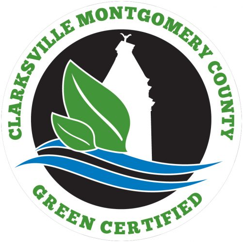 Clarksville Academy is Montgomery County Green Certified - seal