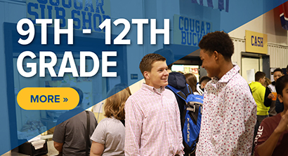 Ninth through Twelth Grade - Click here for information.